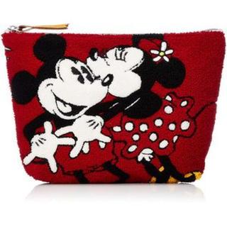[ディズニー]ポーチ さがらポーチ サガラ刺繍 刺繍 ロゴ 多用途 バッグ 鞄(その他)