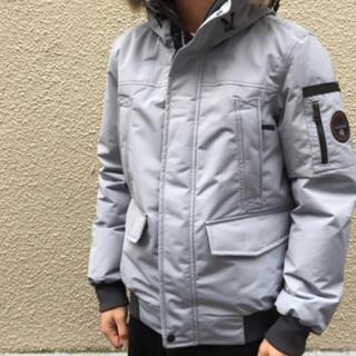 ナパピリ(NAPAPIJRI)のnapapijri flight jacket ナパピリ ダウンジャケット(ダウンジャケット)