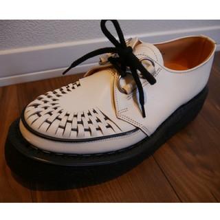 ジョージコックス(GEORGE COX)のジョージコックス ラバーソール 3588 ホワイト(ブーツ)