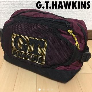 ジーティーホーキンス(G.T. HAWKINS)の#3784 G.T.HAWKINS ホーキンス ウエストバッグ バッグ(ウエストポーチ)