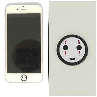★新品★iPhoneホームボタン★顔なし(iPadケース)