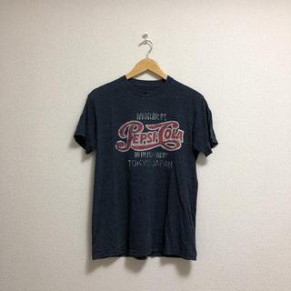 コカコーラ(コカ・コーラ)のペプシコーラ 古着 Tシャツ pepsi - cola M(Tシャツ/カットソー(半袖/袖なし))