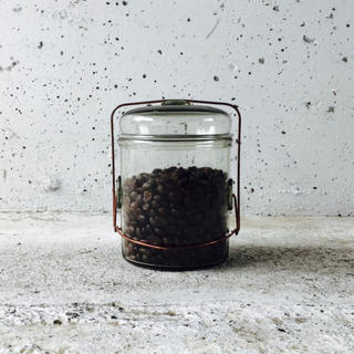 新品 Peter ivy Coffee jar ピーターアイビー ガラスジャー