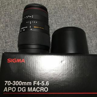 シグマ(SIGMA)のSIGMA 70ー300mm F4-5.6 APO DG MACRO(レンズ(ズーム))