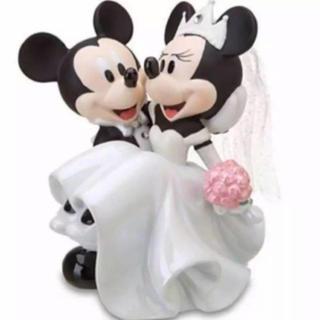 ディズニー(Disney)のミッキー ミニー ケーキトッパー 置物(置物)