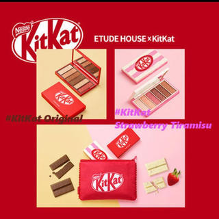 エチュードハウス(ETUDE HOUSE)の新品♡エチュードハウス×キットカット♡コラボ♡ETUDEHOUSE♡アイシャドウ(アイシャドウ)