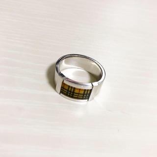 バーバリー(BURBERRY)のBURBERRY リング 15号 925silver 箱付き(リング(指輪))