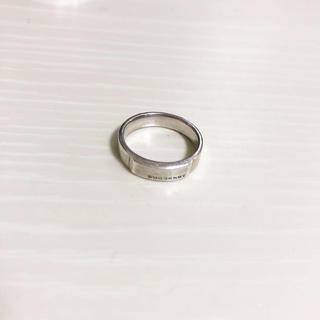 バーバリー(BURBERRY)のBURBERRY リング 7号 silver(リング(指輪))