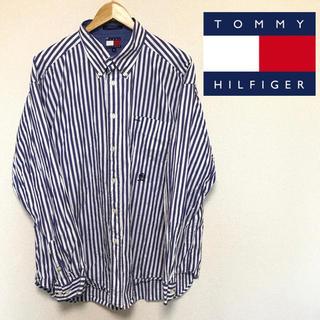 TOMMY HILFIGER - 値下げ!Tommy Hilfiger トミーヒルフィガー ストライプシャツ