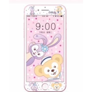 大人気♡iphoneガラスフィルム iPhoneフィルム ダッフィー(iPhoneケース)
