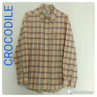 クロコダイル(Crocodile)のクロコダイル CROCODILE 長袖シャツ(シャツ)