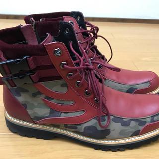 ドラゴンベアード(DRAGON BEARD)の新品 ドラゴンべアード 26.5cm カモフラ アーミー ブーツ 半額以下(ブーツ)