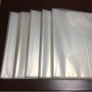 ムジルシリョウヒン(MUJI (無印良品))の無印 クリアポケット ファイル 10冊 セット(ファイル/バインダー)