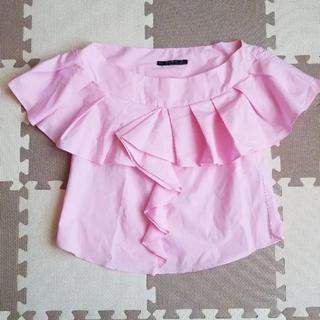 ザラ(ZARA)のZARA♡トップス(Tシャツ(半袖/袖なし))