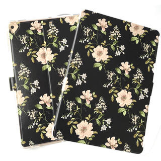iPadケース カバー mini Air iPad5/6 花柄 ジャスミンの花(iPadケース)