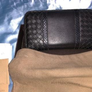 Bottega Veneta - 正規品、ボッテガ/イントレチャート/ブラック/used