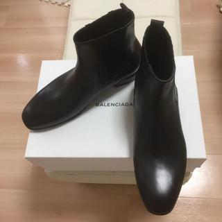 バレンシアガ(Balenciaga)のBALENCIAGA サイドゴアアンクルブーツ(ブーツ)