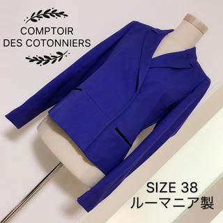 コントワーデコトニエ(Comptoir des cotonniers)のCOMPTOIR DES COTONNIERS テーラードジャケット(テーラードジャケット)