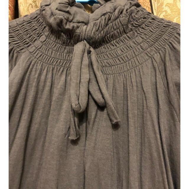 DESIGUAL(デシグアル)のdesigual グレー トップス M〜L レディースのトップス(カットソー(半袖/袖なし))の商品写真