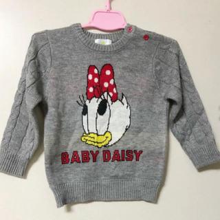 ディズニー(Disney)の【新品】ベビーデイジーDisneyニットトップス セーター ベビー服 ディズニー(ニット)