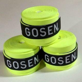 ゴーセン(GOSEN)のGOSEN グリップテープ(3個) フラッシュイエロー(その他)