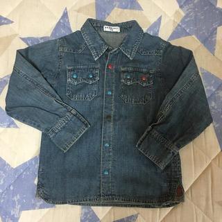 ブランシェス(Branshes)のブランシェス 110 デニムシャツ(Tシャツ/カットソー)