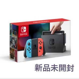 ニンテンドースイッチ(Nintendo Switch)の【新品未開封】Nintendo Switch ニンテンドースイッチ 本体 ネオン(携帯用ゲーム本体)