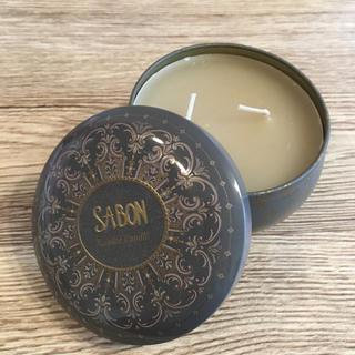 サボン(SABON)のSABON キャンドルinティン 200ml(キャンドル)