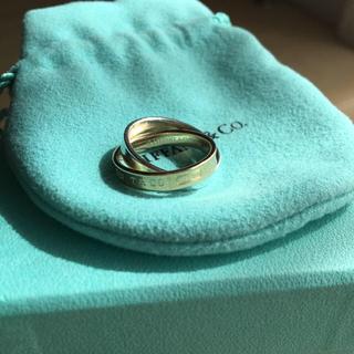 ティファニー(Tiffany & Co.)のティファニー インターロッキング リング ゴールド シルバー(リング(指輪))