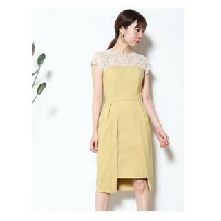 ラグナムーン(LagunaMoon)のレングススカラップドレス  ラグナムーン(ミディアムドレス)