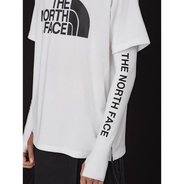 THE NORTH FACE(ザノースフェイス)のスリンキー様専用 THENORTHFACE × HYKE レディースのトップス(Tシャツ(半袖/袖なし))の商品写真