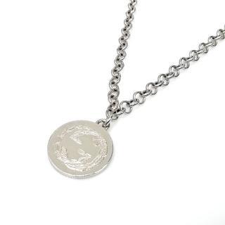 グッチ(Gucci)の美品 グッチ GG コイン BEE シルバー メダル ネックレス SG30(ネックレス)