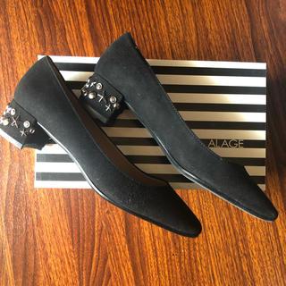 アカクラ(Akakura)の【新品未使用】あかくら❤️イタリア製パンプス 24㎝(ローファー/革靴)