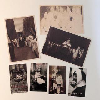 グリモワール(Grimoire)のSTRANGE LOVE アンティーク調 KKK ポストカード(写真)