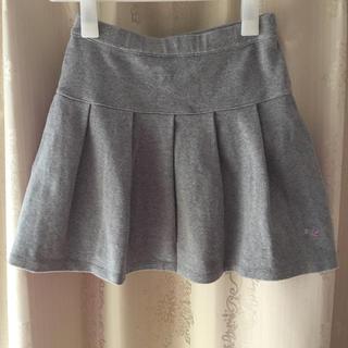 ギンザノサエグサ(SAYEGUSA)のサエグサ   女児スカートライトグレー 11/130〜140相当(スカート)