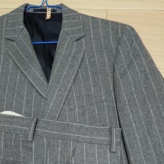タカキュー(TAKA-Q)のスーツ 上下 セットアップ グレー ストライプ タカキュー TAKA-Q(セットアップ)