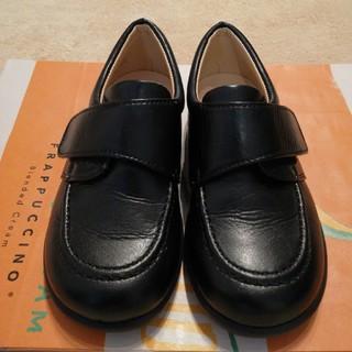 ファミリア(familiar)のなな様専用ページ ファミリア お出かけ靴 15センチ 黒 ローファー 美品(ローファー)