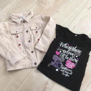 ブランシェス(Branshes)のジャケット Tシャツ セット(ジャケット/上着)