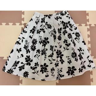アストリアオディール(ASTORIA ODIER)のアストリア☆花柄スカート(ひざ丈スカート)
