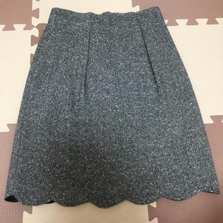 アストリアオディール(ASTORIA ODIER)のツイードスカート(ミニスカート)