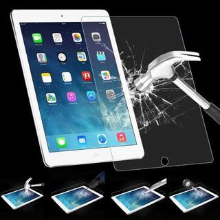 iPad air / Air2 / iPad5 強化ガラス 液晶保護 フィルム (iPadケース)