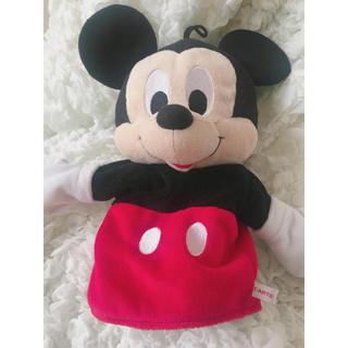 ディズニー(Disney)のミッキー  パペット 人形(ぬいぐるみ/人形)