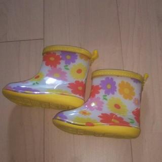 キッズフォーレ(KIDS FORET)の【新品未使用】KidsForetのレインブーツ☆(長靴/レインシューズ)