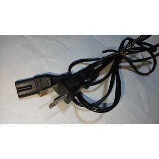電源ケーブル 2つ穴 7A 125V 約180cm   (その他)