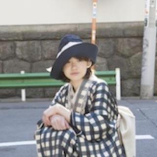 H.P.FRANCE - sugri×DOUBLE MAISON 帽子 ハット クロシェ大森伃佑子 さん