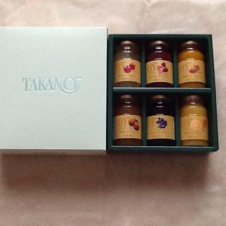 TAKANOフルーツジャムセット(缶詰/瓶詰)