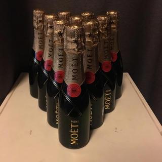 モエエシャンドン(MOËT & CHANDON)のMOET&CHANDON モエシャンドン 200ml ミニボトル新品10本(シャンパン/スパークリングワイン)