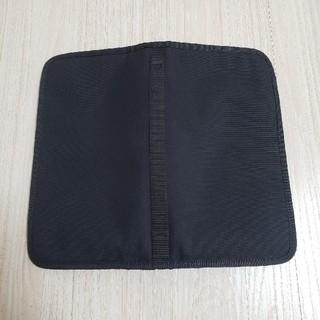 ムジルシリョウヒン(MUJI (無印良品))の無印良品 ポリエステルパスポートケース ブラック(日用品/生活雑貨)