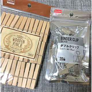 木製ピンチ & ダブルクリップ (その他)