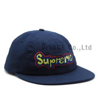 シュプリーム(Supreme)のSupreme Gonz Logo 6-Panel 紺(キャップ)